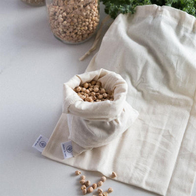 Natural Cotton Bulk Bags