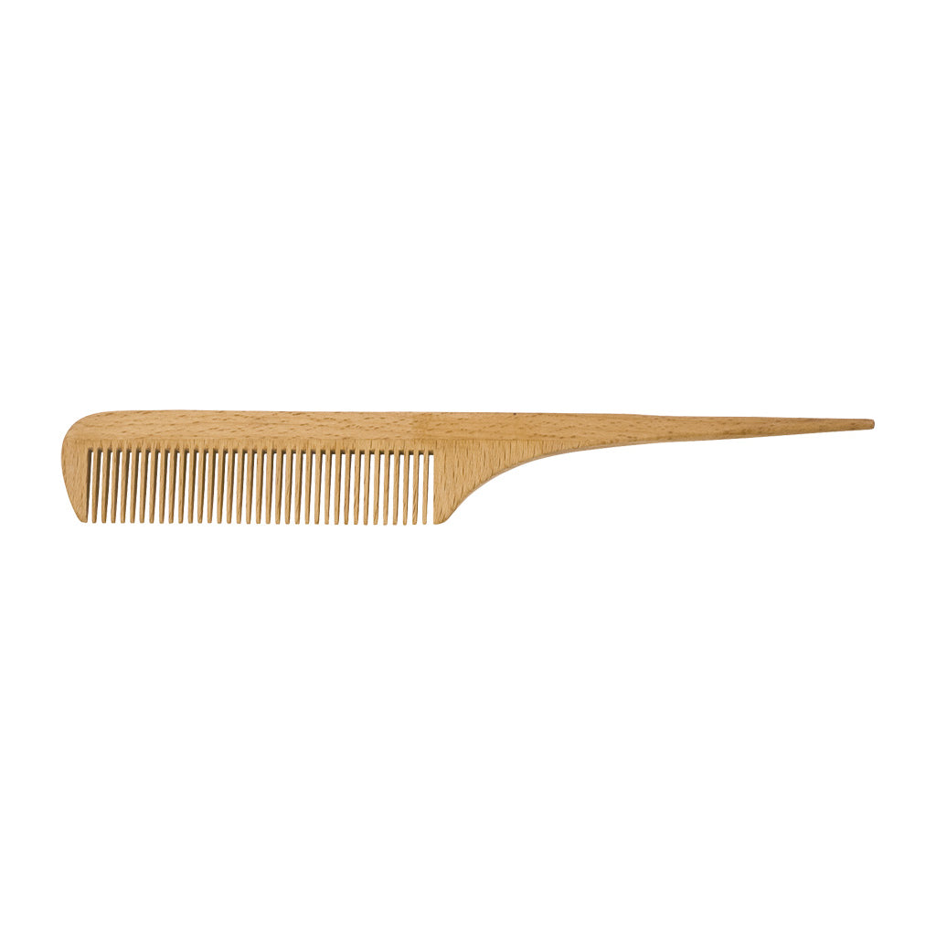 Wood Tail Comb Made In Italy