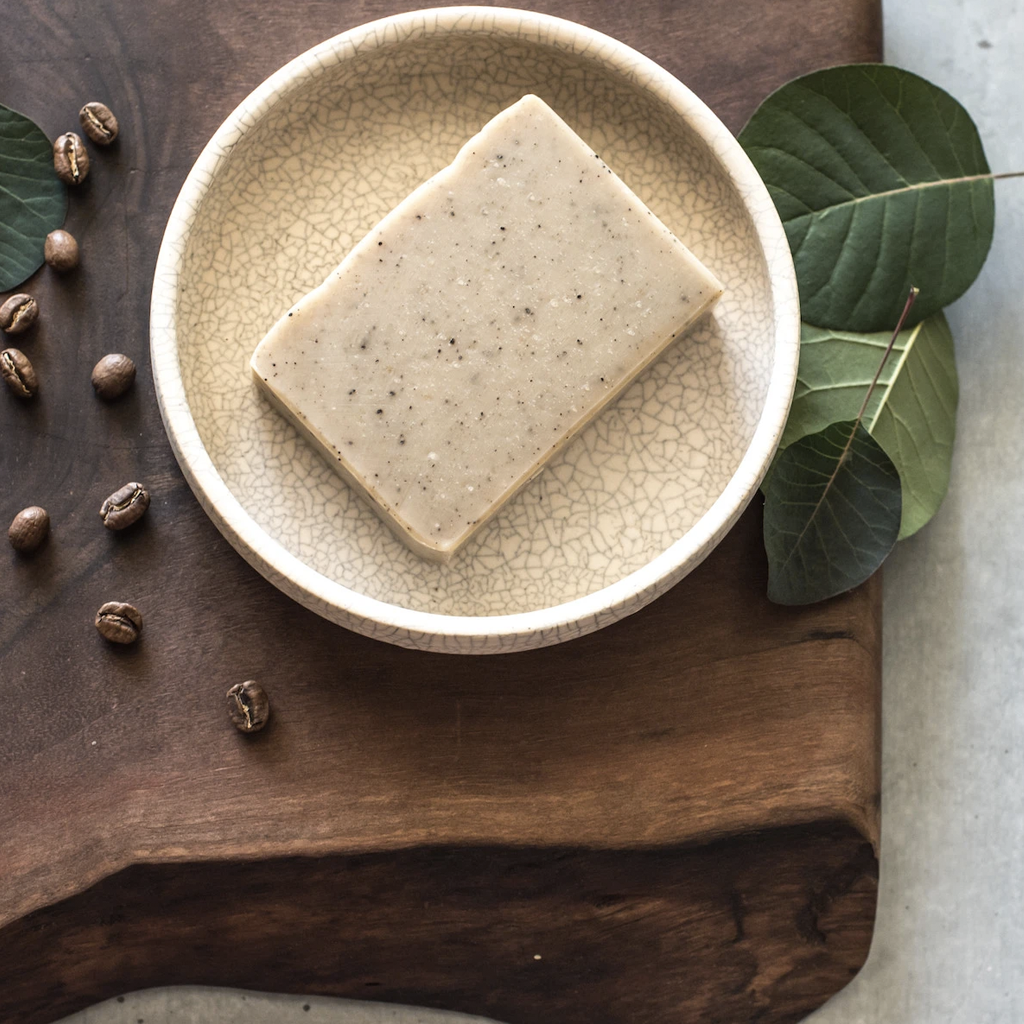 EARTH: Bold Ground Coffee Soap with Clove and Rosemary