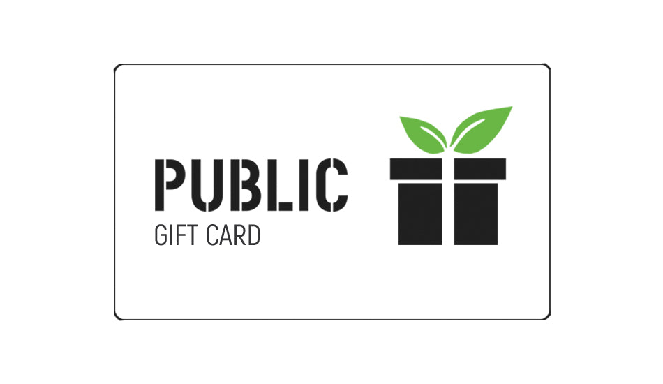 PUBLIC Gift Cards