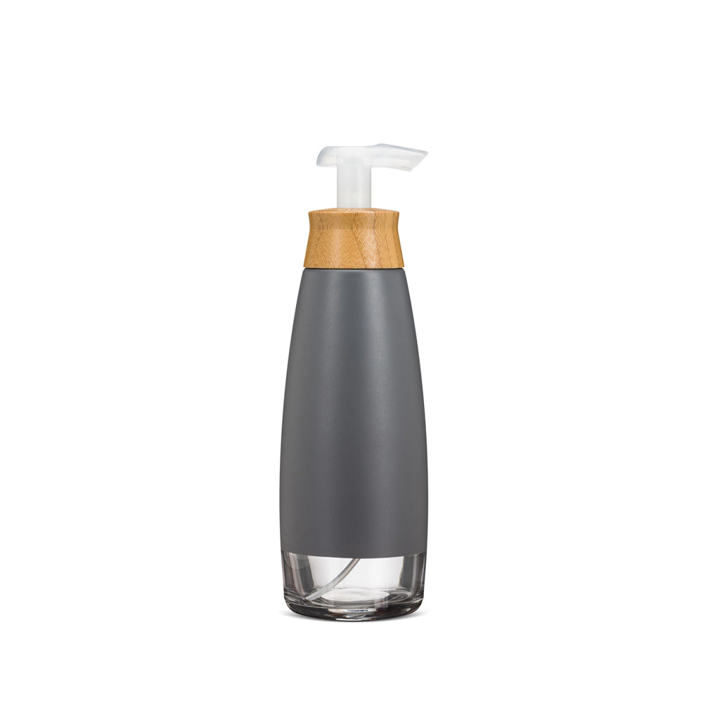 Glass + Bamboo Foaming Soap Dispenser