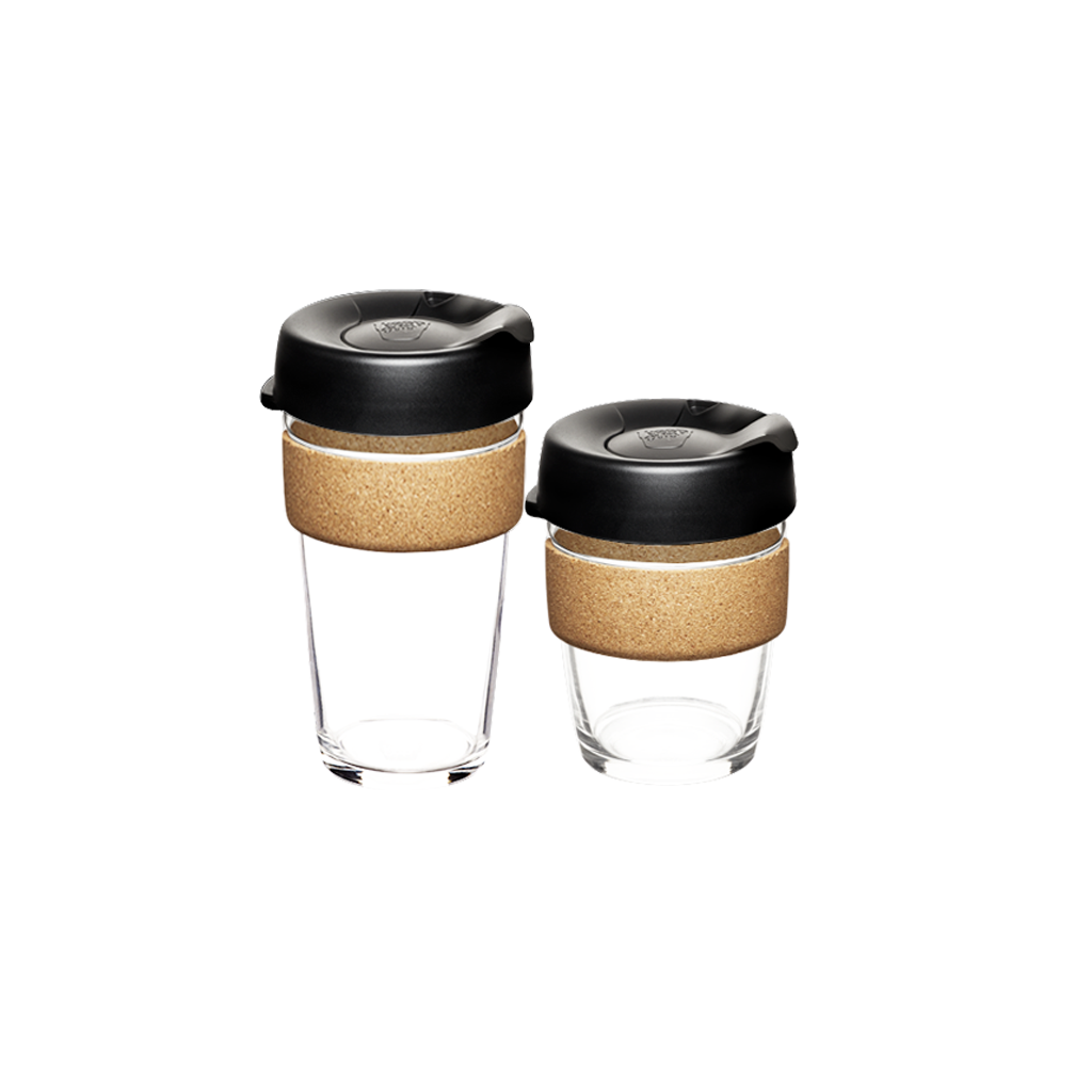 Reusable Glass + Cork Edition KeepCup