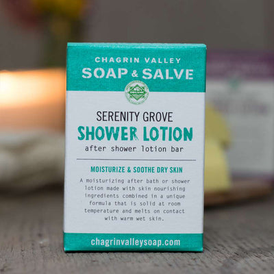 Serenity Grove After Shower Lotion Bar