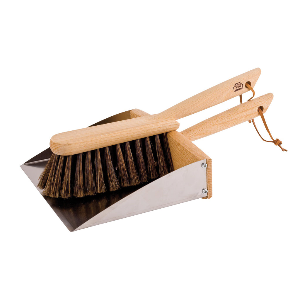 Magnetic Dustpan + Hand Brush Set