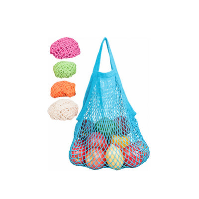 Tropical Colored Short Handle Market Bags