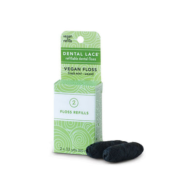 Refills: Dental Lace Silk Floss + Vegan Floss