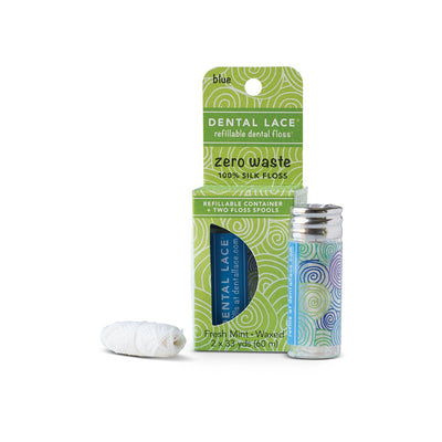 Blue Compostable Dental Floss