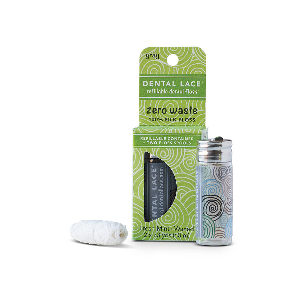Refillable + Compostable Dental Floss