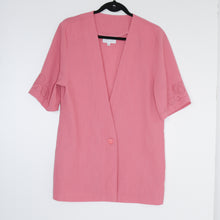 Vintage French pink blouse SIZE 12