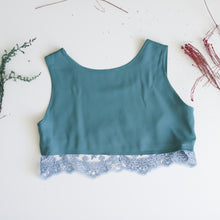 Upcycled crop top SIZE 10