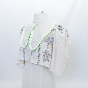 100% Recycled La chouette blouse - Only enough fabric for 2
