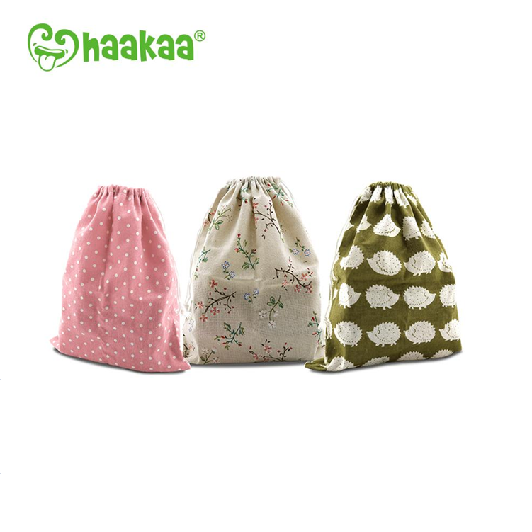 Reusable Natural Cotton Bags
