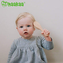 Load image into Gallery viewer, Haakaa Wooden Baby Hair Brush