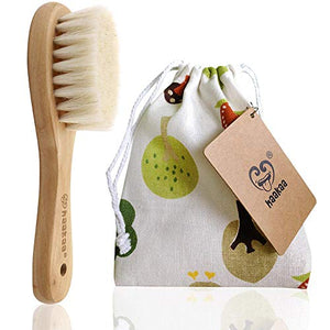 Haakaa Wooden Baby Hair Brush