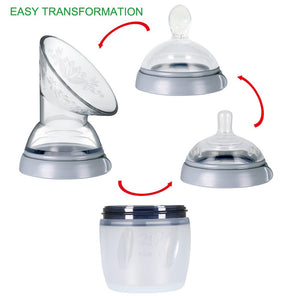 Haakaa Generation 3 Breast Pump with Nipple Lid and Spoon (160ml)