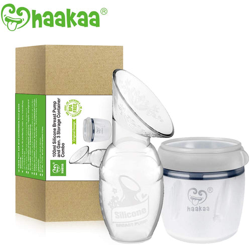 Gen. 1 Breast Pump (100ml) & Gen. 3 Storage Container (160ml) Set