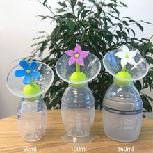 Load image into Gallery viewer, Silicone Breast Pump Flower Stopper