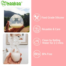 Load image into Gallery viewer, Haakaa Manual Breast Pump & Breast Shell Combo Breastmilk Collector for Breastfeeding Silicone Milk Catcher Nursing Cup Milk Saver Breastmilk Collector Soft and Reusable