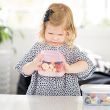 Load image into Gallery viewer, Silicone Food Container - 2 Compartment Lunchbox