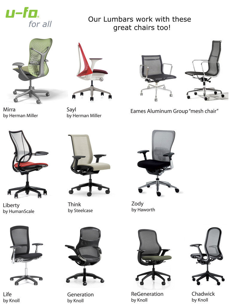 Description  sc 1 st  U-fo & Monterey Saddle Lumbar Back Support for Mesh Office Chairs in Leather