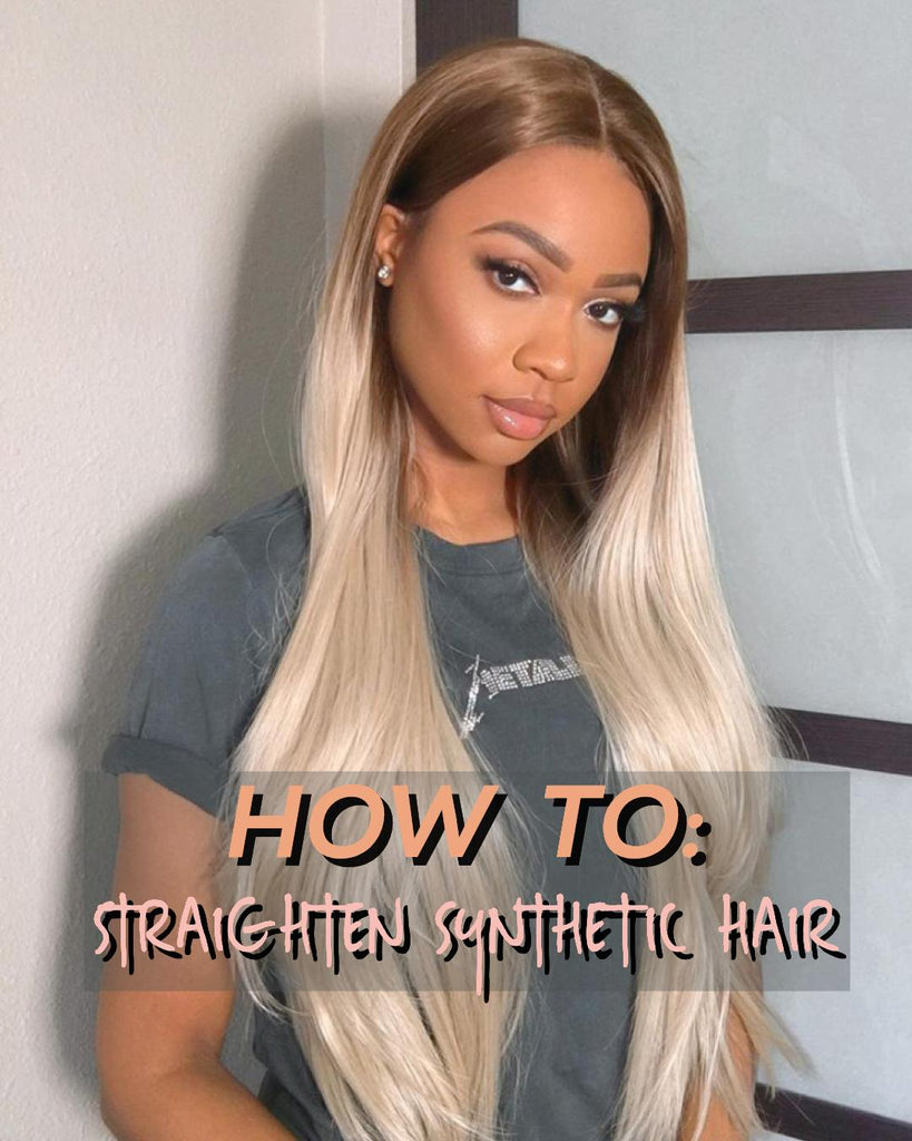 How to Straighten your LA 'BELLO BEAUTY WIG.