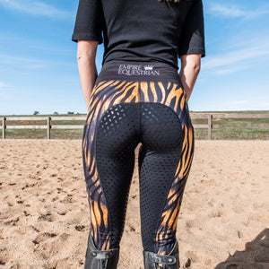 Unlined Riding Tights - TIGER