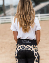 Load image into Gallery viewer, Winter Riding Tights - LEOPARD PRINT