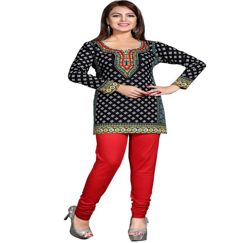 Exclusive Printed cotton Short Kurti designs for women