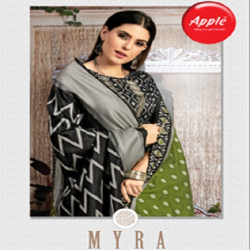 Textile Mall Apple Myra silk Blend designer saree