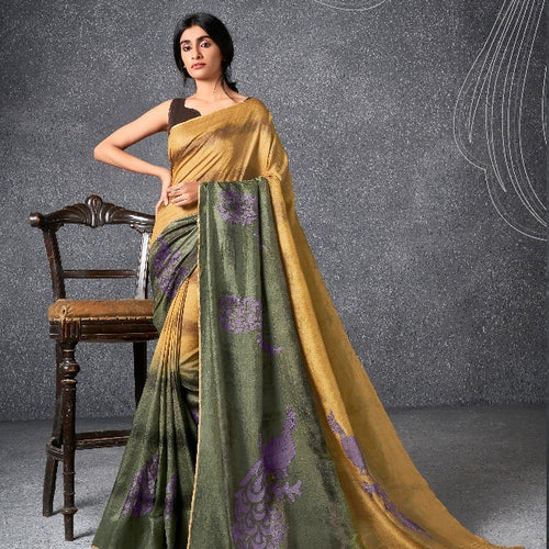 Tradition indian ware saree with blouse