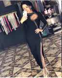 Top Quality Women Dress Black Sleeveless Rayon Bodycon Bandage Dress Evening Party Dress