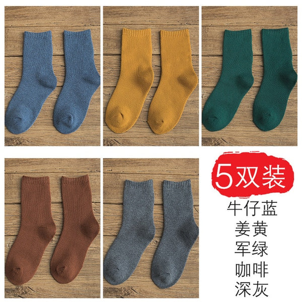 5Pairs/Lot Winter Ankle Socks  Socks Women Clothing  Toe Socks  Streetwear  Womens Plus Size Fashions Slipper