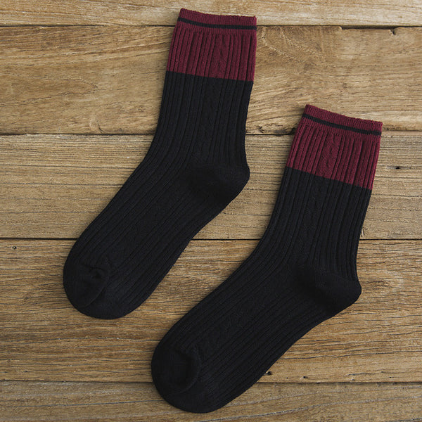 High Quality Women Fashion Winter Women Socks  Japanese Korean Style Winter Cotton Casual Thick Warm Socks