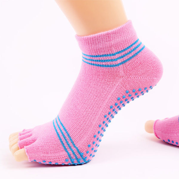socks women spring cotton Fashion Women Cute Five Finger Toe Casual Anti Slip Cotton Socks Comfortable Socks skarpetki meia A75
