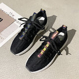 Women Casual Shoes Fashion Breathable Walking Mesh Flat Shoes Sneakers Women 2019 Hot Sale Tenis Feminino Vulcanized Footwear