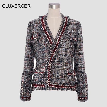 2019 Autumn Bomber Jacket Women Zipper Long Sleeve Patchwork Oversize Cardigan Sweaters Casual Loose O-Neck Elegant Coats 5XL