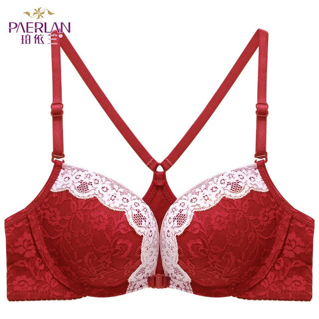 PAERLAN Sexy Seamless Bra Push Up Women's Underwear Y Shoulder Strap Backless Beauty Back Bra