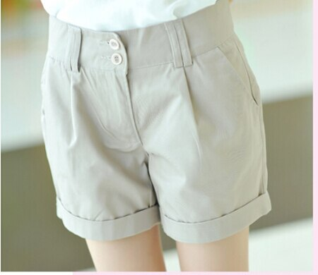 New 2019 women shorts summer straight shorts slim plus size casual shorts women