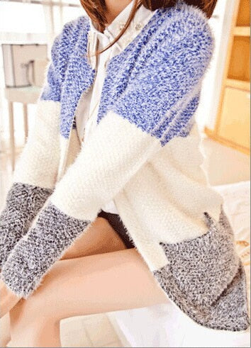 Hot Women Sweaters 2016 Autumn Winter Casual Cardigan Fashion Knitted Solid Slim Lovely Sweaters Elegant Candy Colors Cardigans