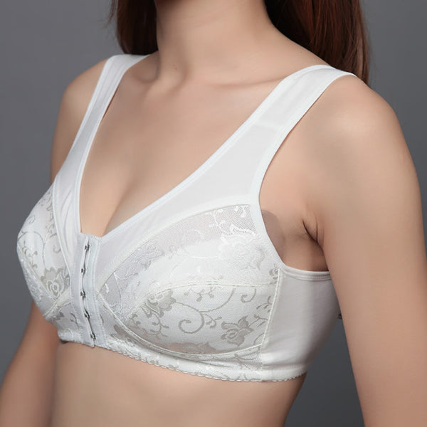 Front closure women bra comfortable backless bra breathable Brassiere plus size bra