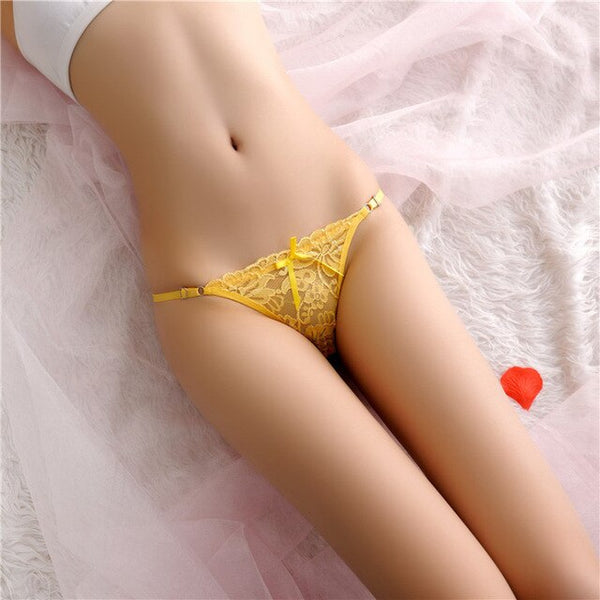 Sexy Women Panties G String Thongs Lingerie T Back Lace Nylon Fashion Underwear Ladies Adjistable Briefs Sale Items