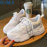 Upgrade Sneakers Women Trainers Air Mesh White Platform Sneakers Ladies Casual Shoes Wedges Shoes Footwear Chaussures Femme