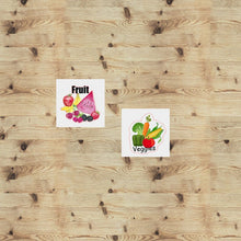 Load image into Gallery viewer, Fruits and Veggies Functional Stickers
