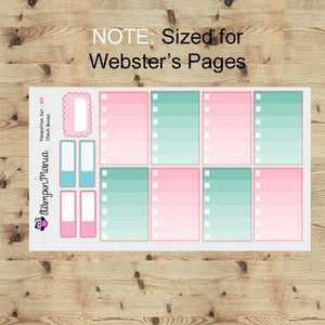 Neapolitan Wkly kit/Websters Pages/Color Crush/Kikki K/Carpe Diem