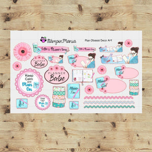 Planner Obsession Deco Sheet
