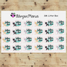 Load image into Gallery viewer, Cat Litter Box -SM Planner Stickers