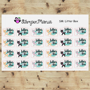Cat Litter Box -SM Planner Stickers