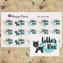 Load image into Gallery viewer, Cat Litter Box -LG Planner Stickers