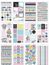 Load image into Gallery viewer, Color Magic Planner Sticker Book (18 pages, 1,769 pcs) - American Crafts