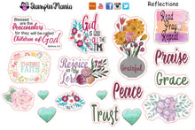 Load image into Gallery viewer, Bible Journaling and Inspirational Stickers - Reflections